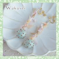 Wakuseiピアス&イヤリング-チョコミント-