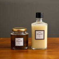 Lucca特製生ドレッシング&Lucca chan sauce(ガーリックアンチョビソース)のセット販売