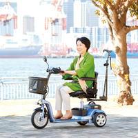 【購入】小回りしやすい!三輪型 電動シニアカーS638スマートパル ライト (軽量タイプ)036888100