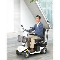 【ご自宅試乗】安定走行なら!四輪型  ハンドル形電動車いす S747(380239000)