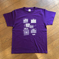 "OTHERS:""AMP S/S T-SHIRT"" (PURPLE)"