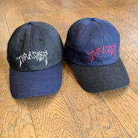 "THRASHER x LOTTIES:""Old Timer Hat"" (BLACK/NAVY)"
