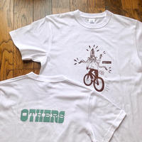 "OTHERS:""BIKE x LOGO S/S T-SHIRT"" (OFF)"