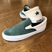 "CONVERSE CONS:""ONE STAR CC SLIP-ON SKATE SHOES""(FADED SPRUCE)"