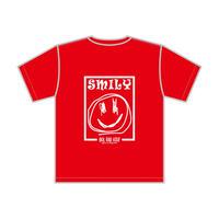 SMILY GRAFFIC Tee S/S KIDZ-RED
