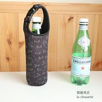 タルティーヌ・猫柄ボトルホルダー(03-019)