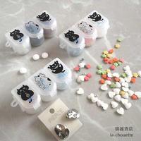 猫柄3連ピルケース(02-061)