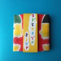 木本百合子/KIMOTO Yuriko「型染手ぬぐい おしゃべり」