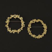 西川美穂/NISHIKAWA Miho「リースのブローチ」
