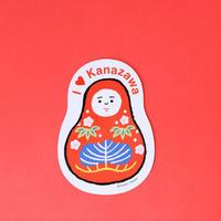 赤池佳江子/AKAIKE Kaeko「ひめだるまマグネット」