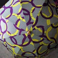 Sun miの傘 黄色×紫(50cm)
