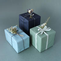 NOTE Flower/ノートフラワー「ドライフラワーのミニブーケ付き包装+内のし」
