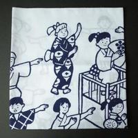 赤池佳江子/AKAIKE Kaeko「盆踊りてぬぐい」