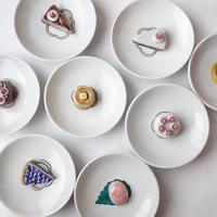今江未央/IMAE Mio「九谷焼立体豆皿 ケーキ」
