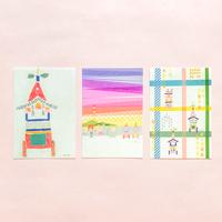 乙女の祇園祭×田村美紀 ポストカードセット