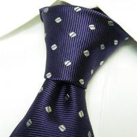 新品|大人のお洒落ネクタイ|BIGLIDUE(ビリドゥーエ)|パープル系総柄ネクタイ|日本製|シルク100%|201704