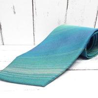 昭和レトロ|伝統織物・手織り|石垣島・八重山みんさー織ネクタイ|シルク100%|USED|743766402002