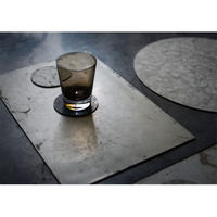 mortar FLOORWALL Coaster Circle Sumi Black