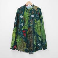 ohta dark green uu shirts st-22D
