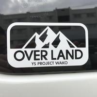 OVERLAND ロゴステッカー(小)