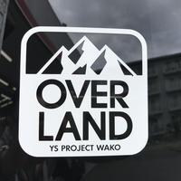 OVERLAND ロゴステッカー(大)