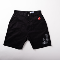 baker half pants  (black)