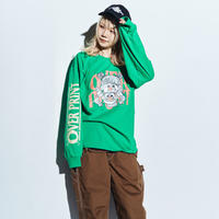 FESTIVAL LS Tee *ONE PIECE *with ZERO ZERO HERO  (green)