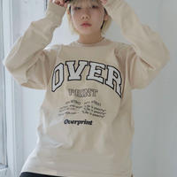 COLLEGE Heavy oz LS Tee(sand)