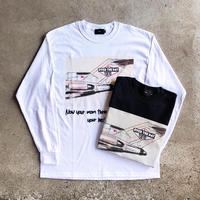 """【O.T.D.T×BENDS】Exclusive """"AIRPLANE"""" Long Tee"""