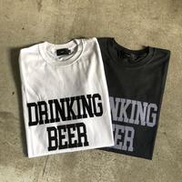 【BENDS】DRINKING BEER Logo Tee