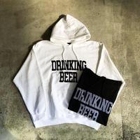 【BENDS】DRINKING BEER Logo Hoodie