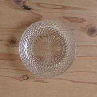 プレスガラスの小皿