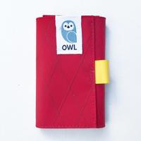 OWL X-Pac Kohaze Wallet (Red / VX21) 13.3g