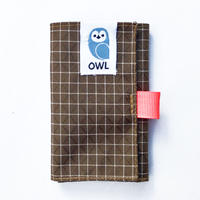 OWL Spectra® Kohaze Wallet  (Brown) 10.0g
