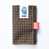 OWL Spectra® Kohaze Wallet  (Brown) 10.0g