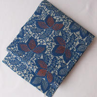 【なごや帯】作家物 藍型染紬なごや帯