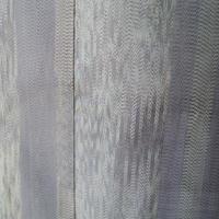 【単衣】トールサイズ 変わり太縞 色大島紬