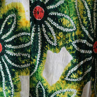 【浴衣】花モチーフビビットカラーの絞り浴衣