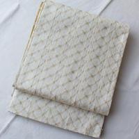 【ふくろ帯】組織×三色縞のリバーシブル袋帯