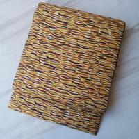 【ふくろ帯】ひなや謹製 縞と曲線文ふくろ帯