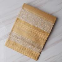【ふくろ帯】金糸使い、様々な織りのふくろ帯