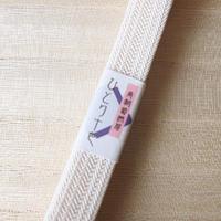 【夏用・帯締め】白×黒 19
