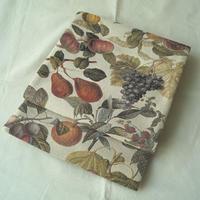 【ふくろ帯】実りの秋 ボタニカル果実柄 洒落袋帯