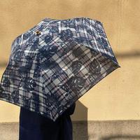 【Bon Bon Store】アフリカンバティック 折り畳み・日傘(撥水コーティング)