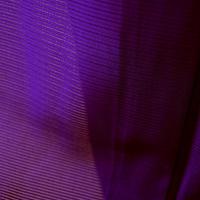 【夏・絽】濃紫色絽色無地一つ紋