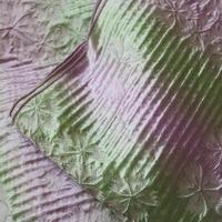 【兵児帯】桜と縞に暈し色兵児帯・淡紫×淡黄緑