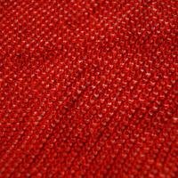 【帯揚げ】赤色 絞り 帯揚げ   絞り㋬