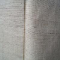 【袷】トールサイズ・ベージュ系野蚕糸紬