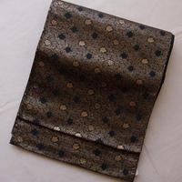 【ふくろ帯】服部織物製唐花柄袋帯