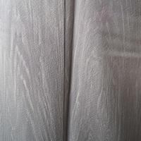 【袷】灰色地木目柄附下げ小紋